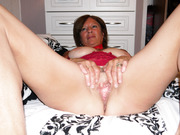 Chrissie loves to pose in lingerie and loves to show her most intimate parts in photo sessions