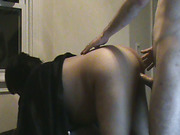 Noisy Latina wife orgasming and getting filled up with white cock and cum